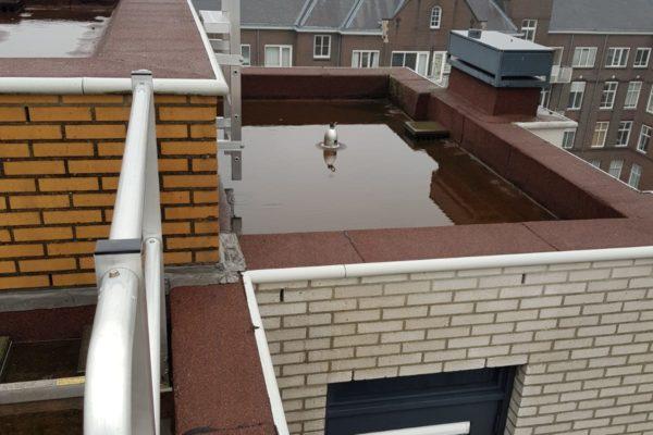 overzicht nieuwe dakbedekking en nieuwbouw dak Choorstraat