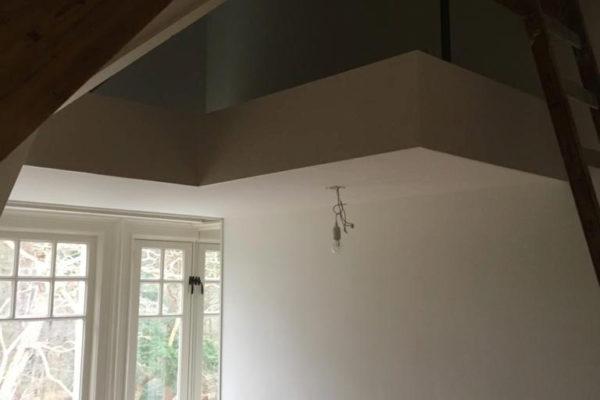 plafond en wanden geschilderd in Huis ter heide door schildersbedrijf Jo. van Doorn