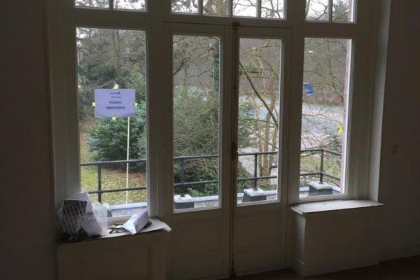 Kozijnen geschilderd in Huis ter Heide door schildersbedrijf Jo. van Doorn