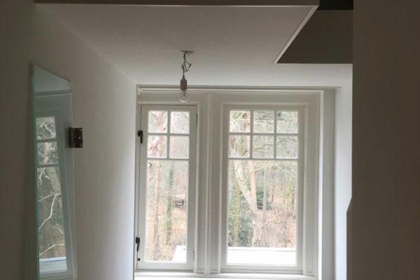 kozeijnen, plafond en wanden geschilderd in Huis ter Heide door schildersbedrijf Jo. van Doorn