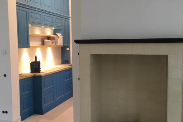 interieur en keuken in villa Huis ter Heide
