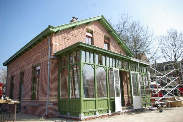 spoorwegmuseum,Joh. van Doorn, schilder, utrecht