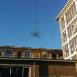Ruit zetten op hoogte in Bilthoven