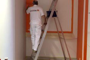Muren Hubrecht Institute oranje voor medewerkers Prinses maxima Centrum